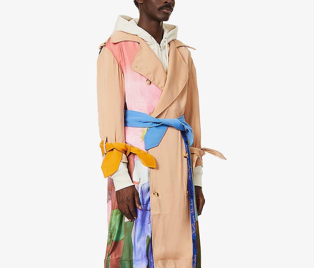PAUSE or Skip: KidSuper Artwork Trench Coat