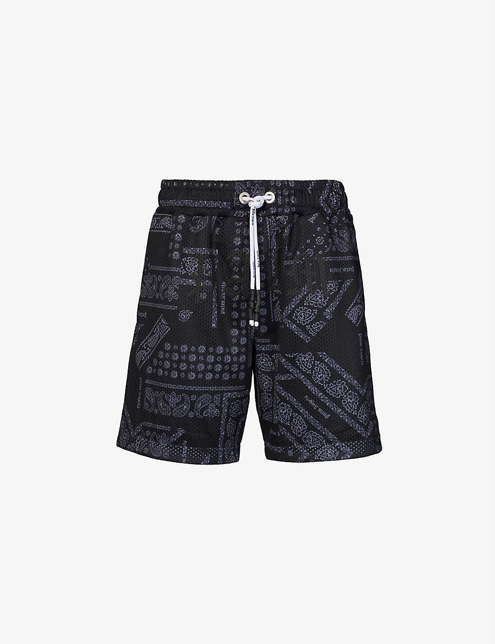 PAUSE or Skip: Palm Angels Bandana Print Shorts