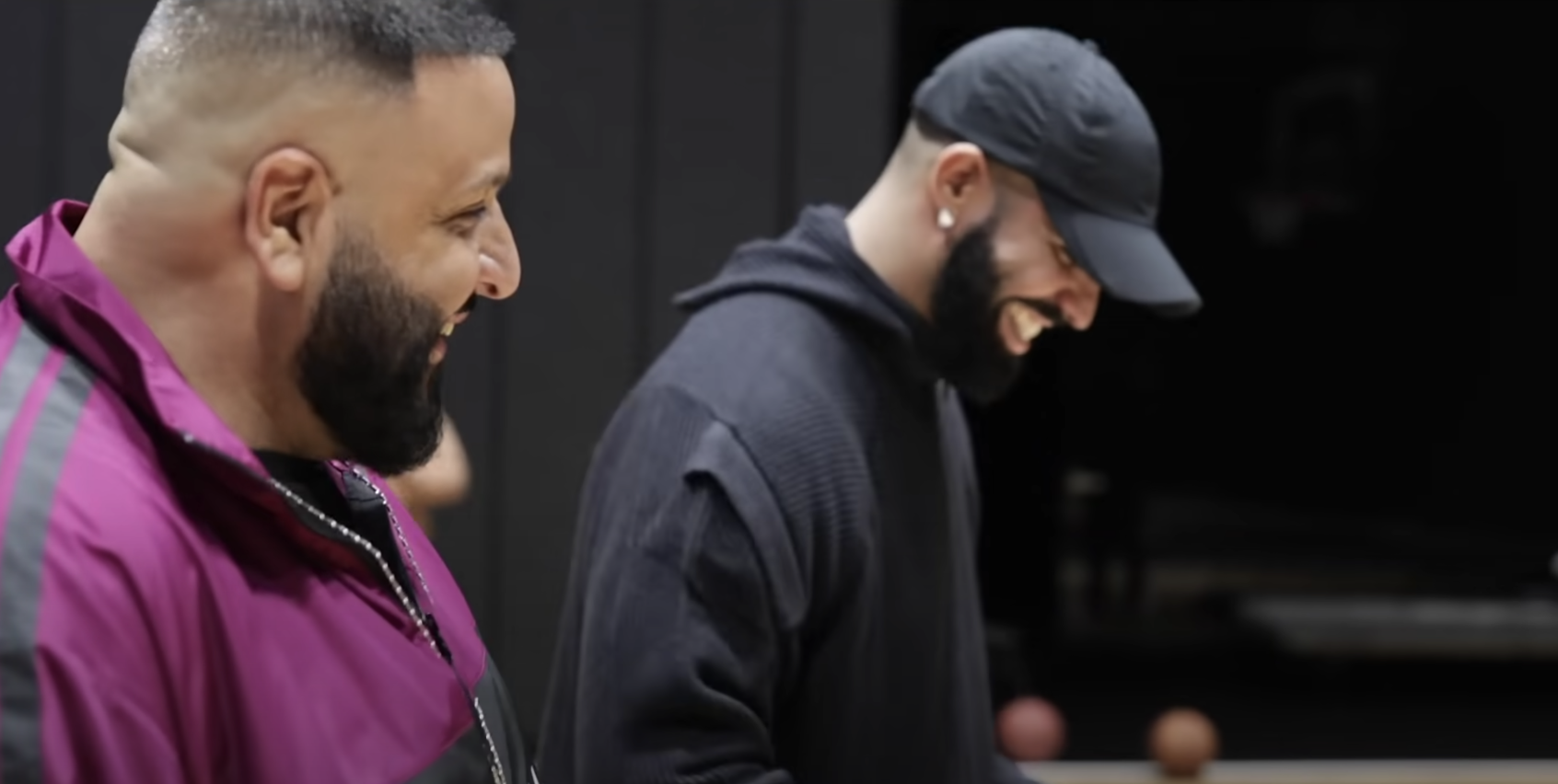 SPOTTED: Drake and DJ Khaled Shoot Their Shot In POPSTAR Visualizer
