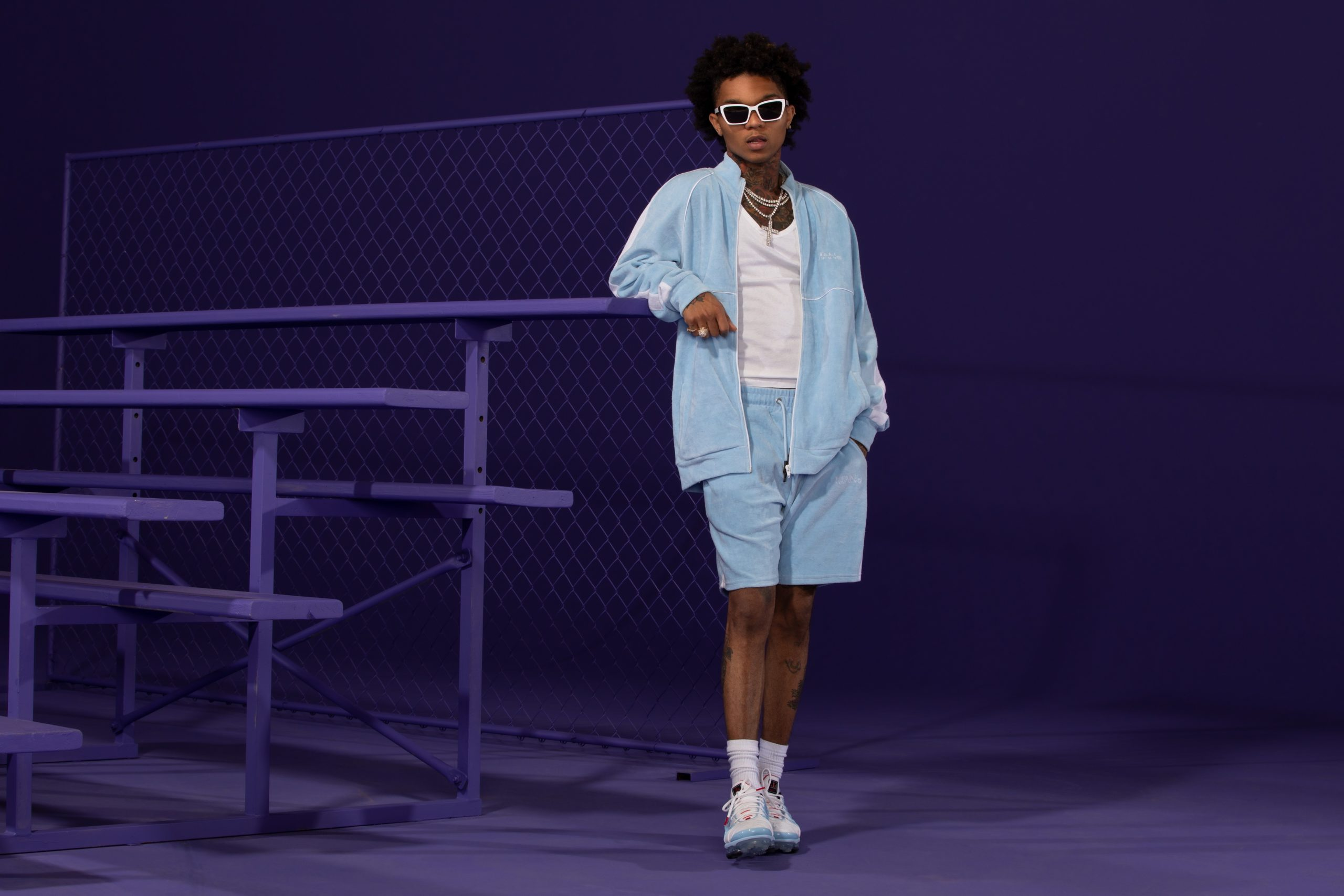 boohooMAN Taps Swae Lee for Latest Tracksuit Edit