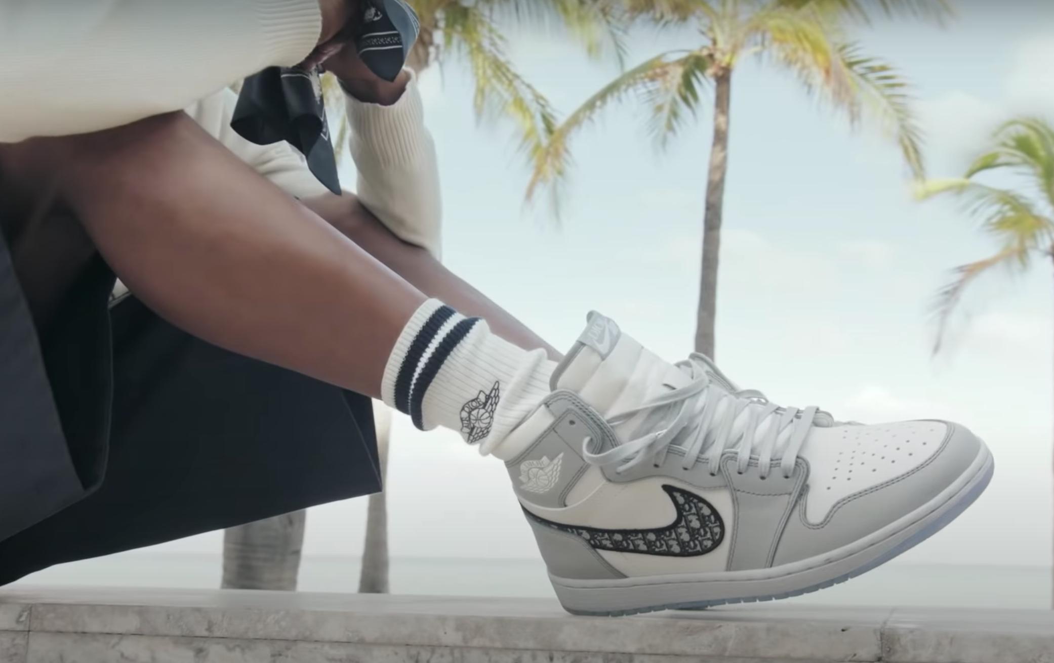 A Closer Look At The Making Of The Dior x Air Jordan 1 Capsule