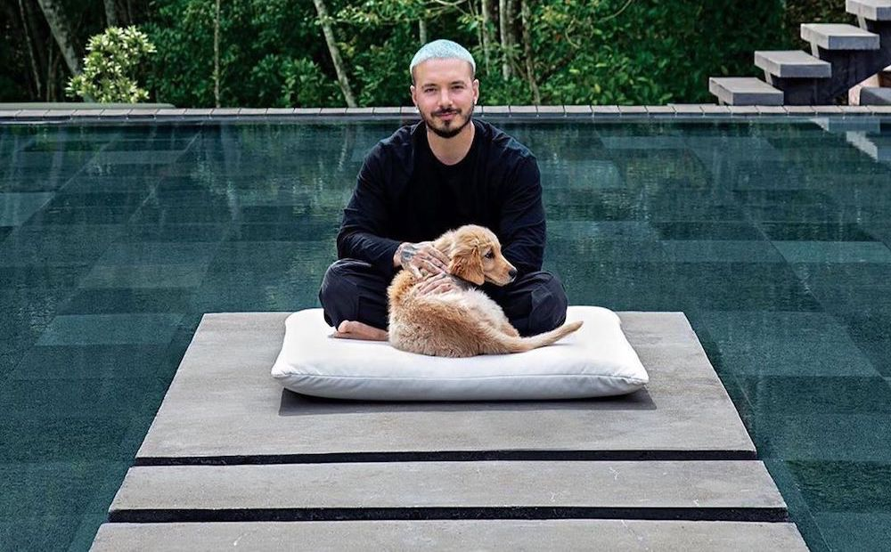 SPOTTED: J Balvin Presents his Colombia Home in Louis Vuitton