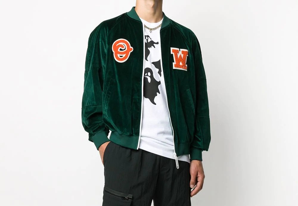 PAUSE or Skip: Off-White Logo Patch Bomber
