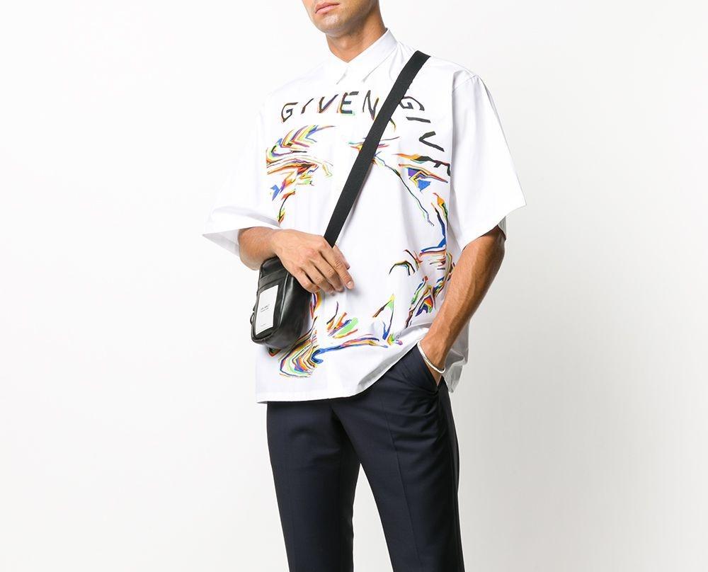 PAUSE or Skip: Givenchy Distorted Logo Shirt