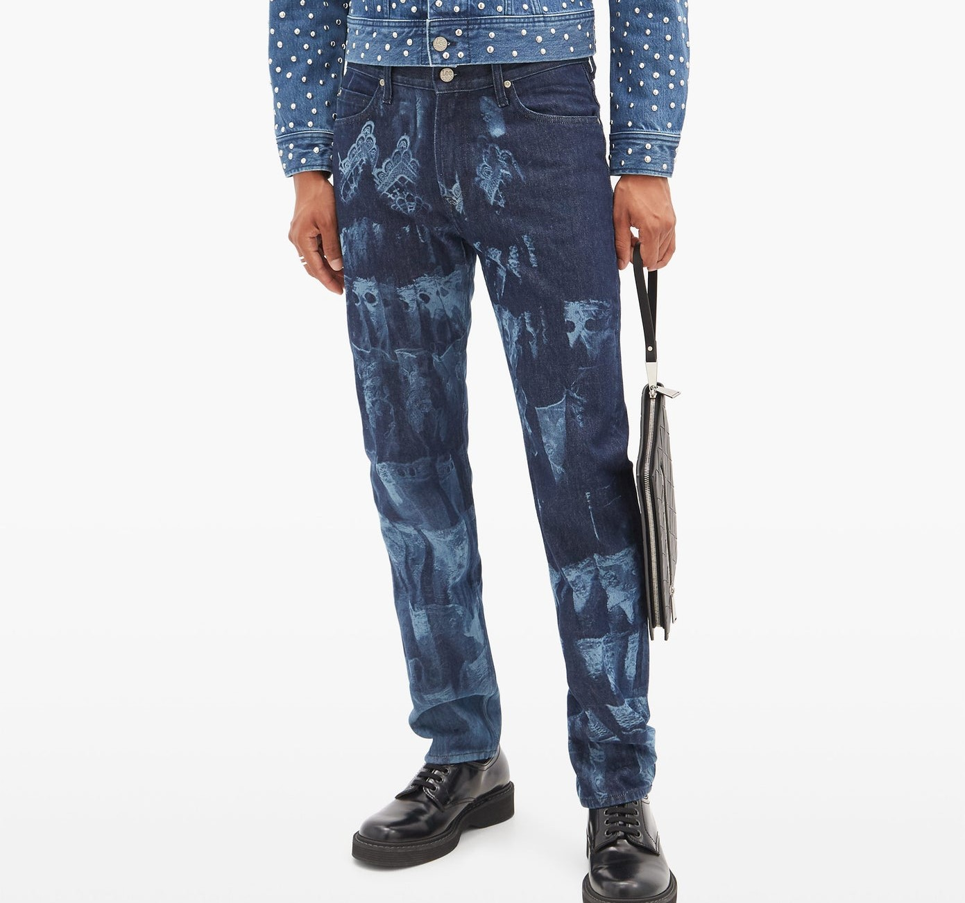 PAUSE or Skip: Stefan Cooke X Lee Printed Jeans