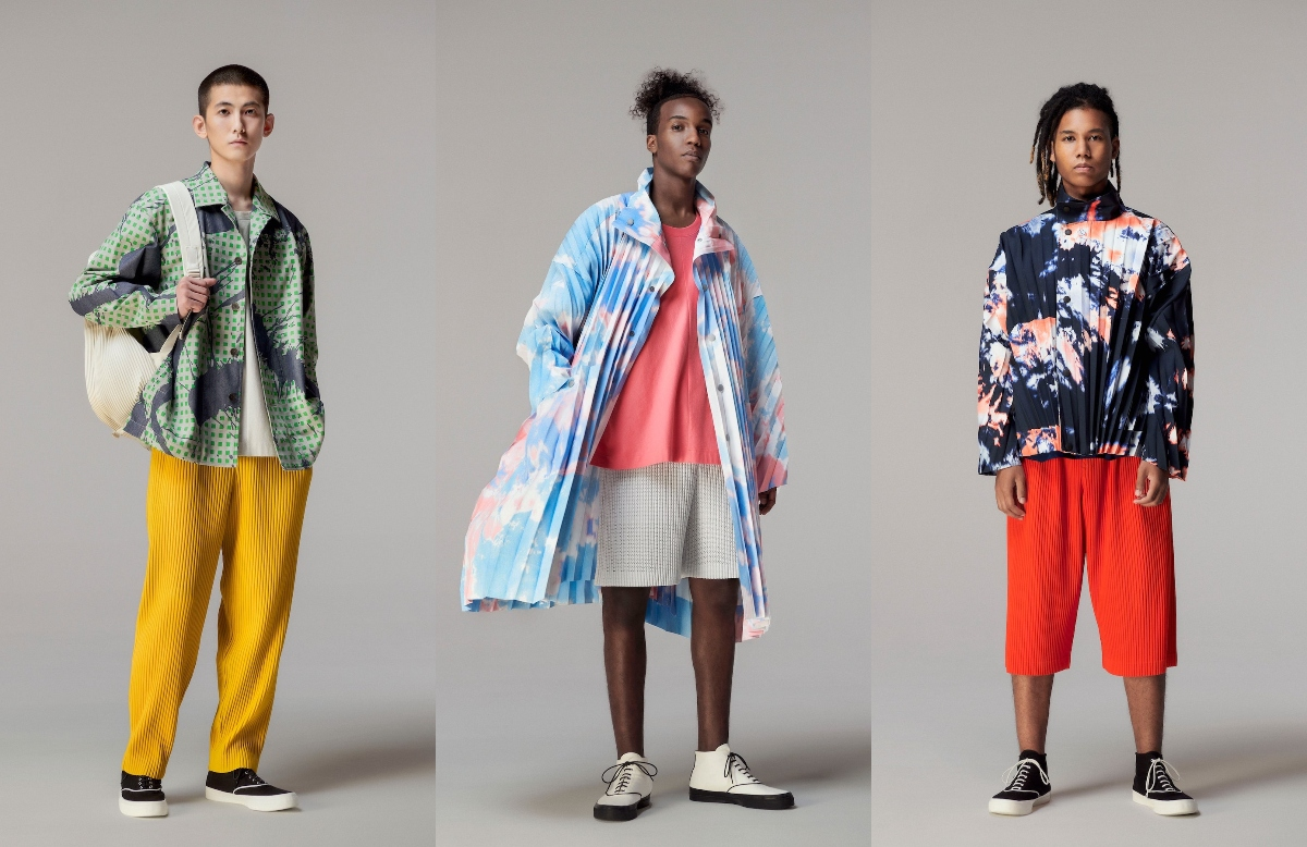 PFW: Homme Plissé Issey Miyake Spring/Summer 2021 Collection