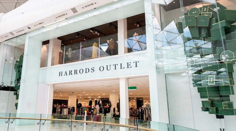 The New Harrods Outlet at Westfield London Has Opened