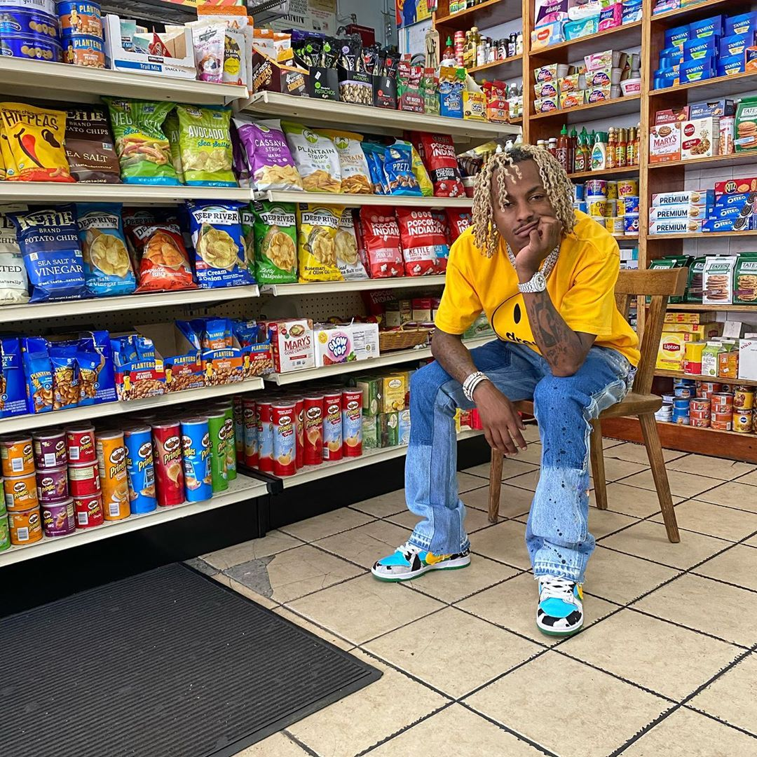 SPOTTED: Rich The Kid in Nike SB Chunky Dunky Sneakers