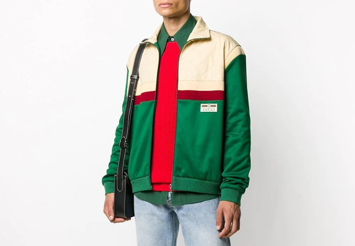 PAUSE or Skip: Gucci Colour-Block Bomber Jacket