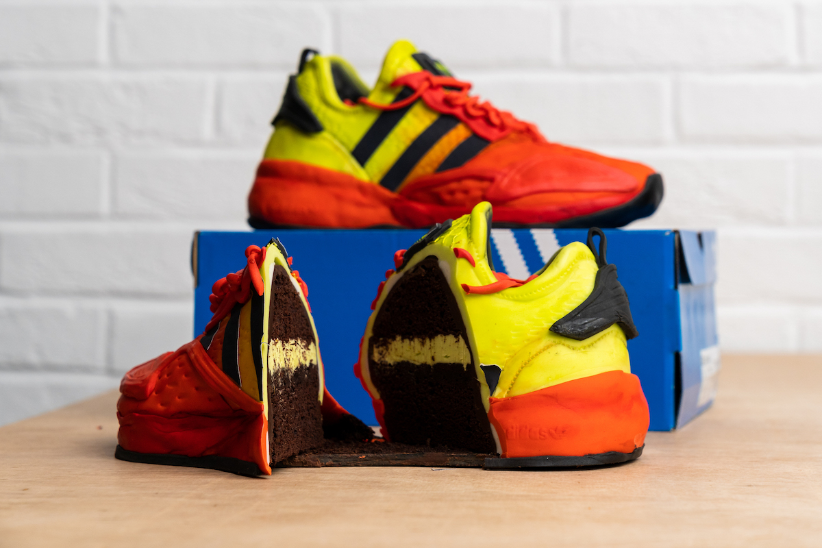 Win adidas Originals Edible Sneaker Cake to Celebrate ZX 2K BOOST Launch