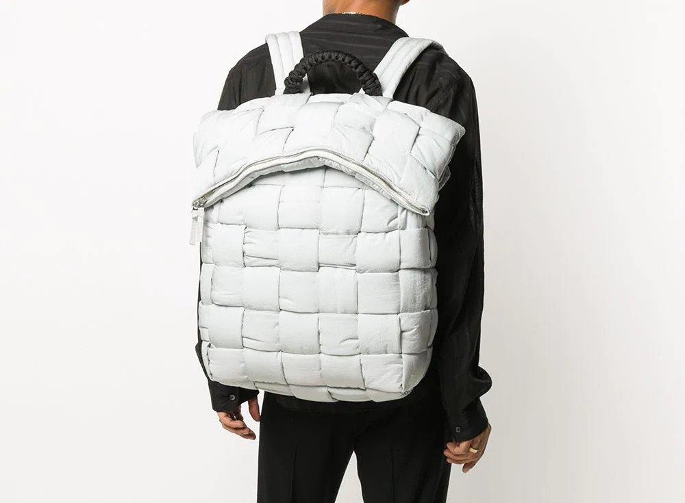 PAUSE or Skip: Bottega Veneta Fold Top Padded Bag