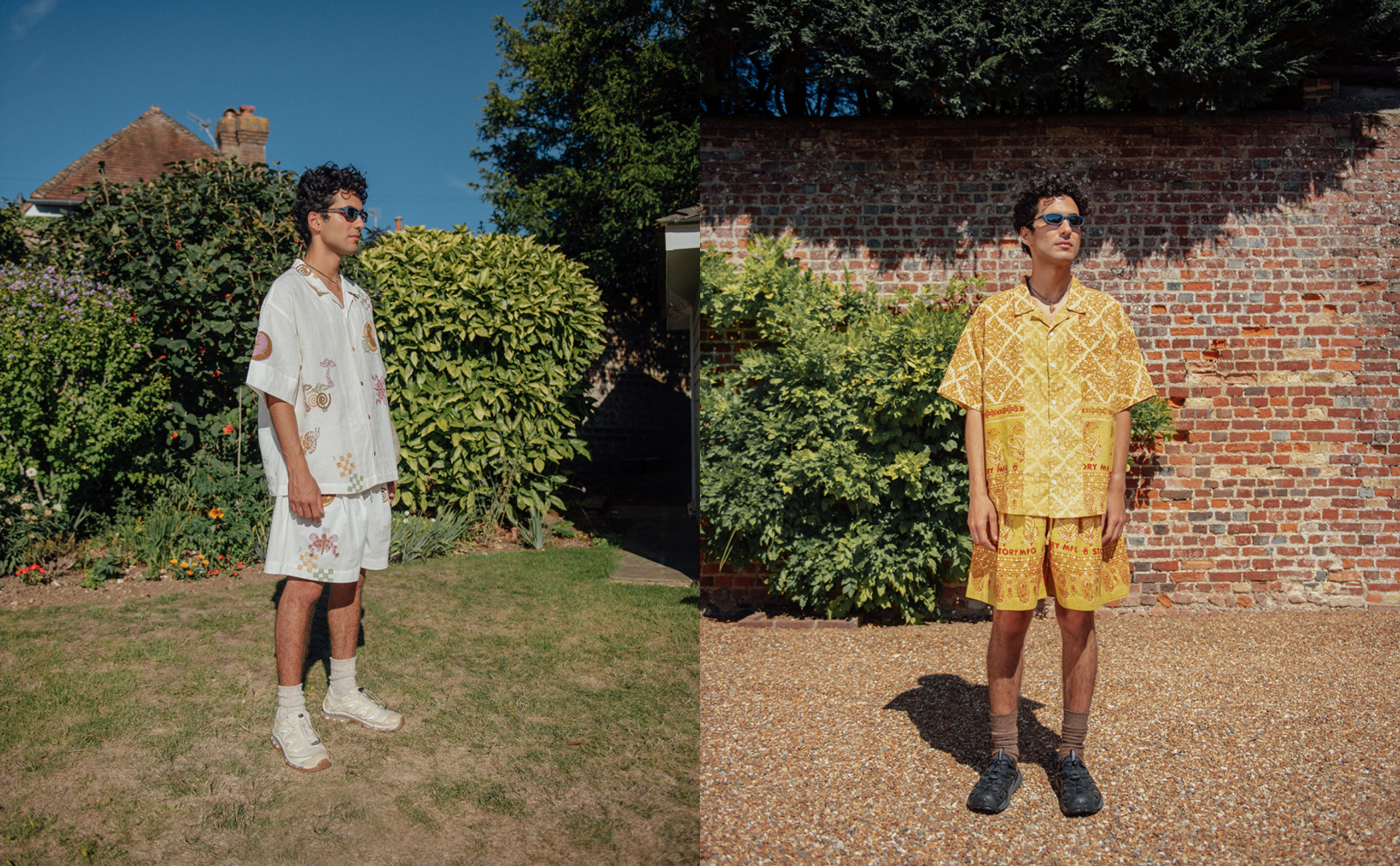 STORY Mfg. Debut Bold New Prints in S/S'21 Collection