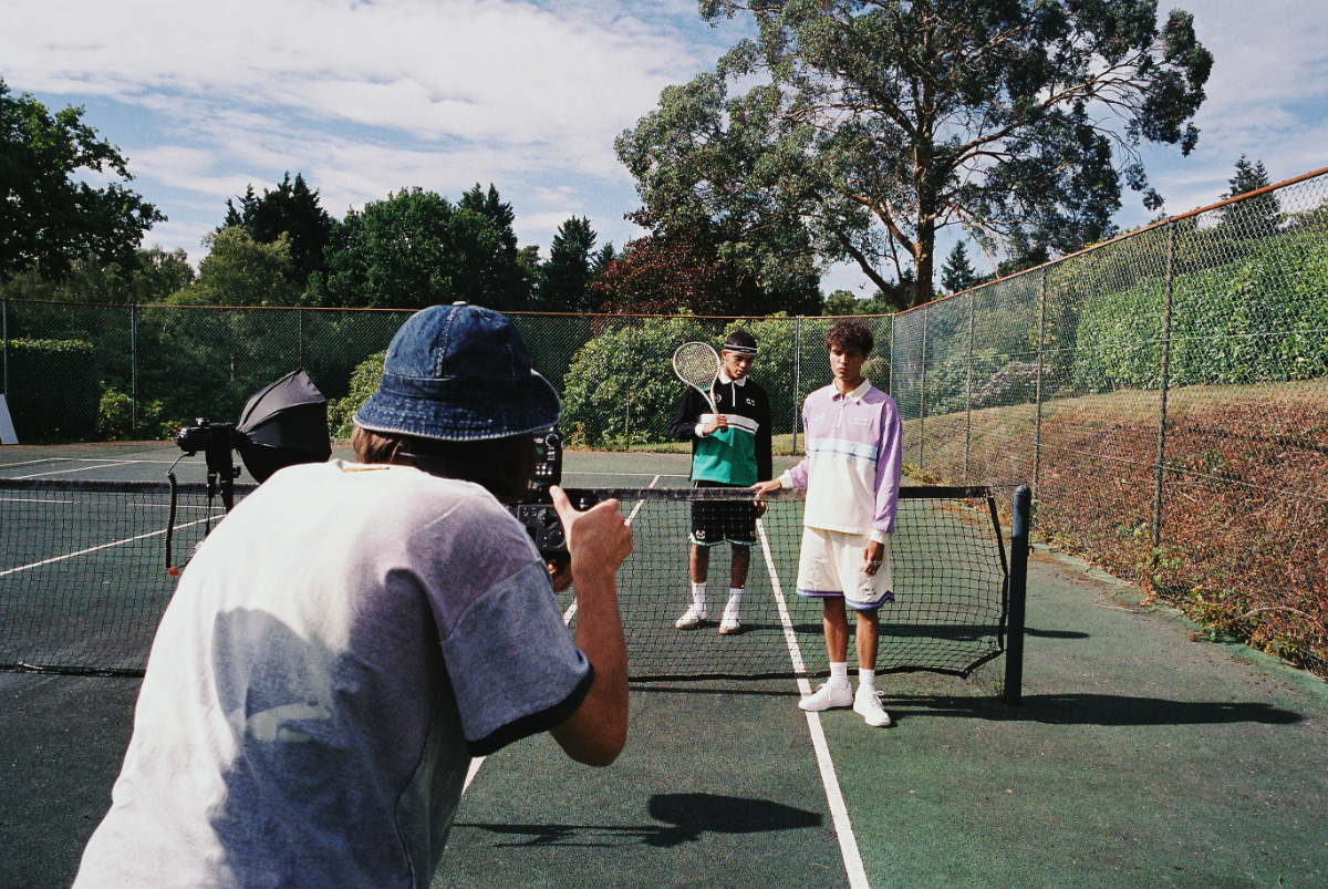 Unknown London Releases Collection to Flex at the Tennis Court