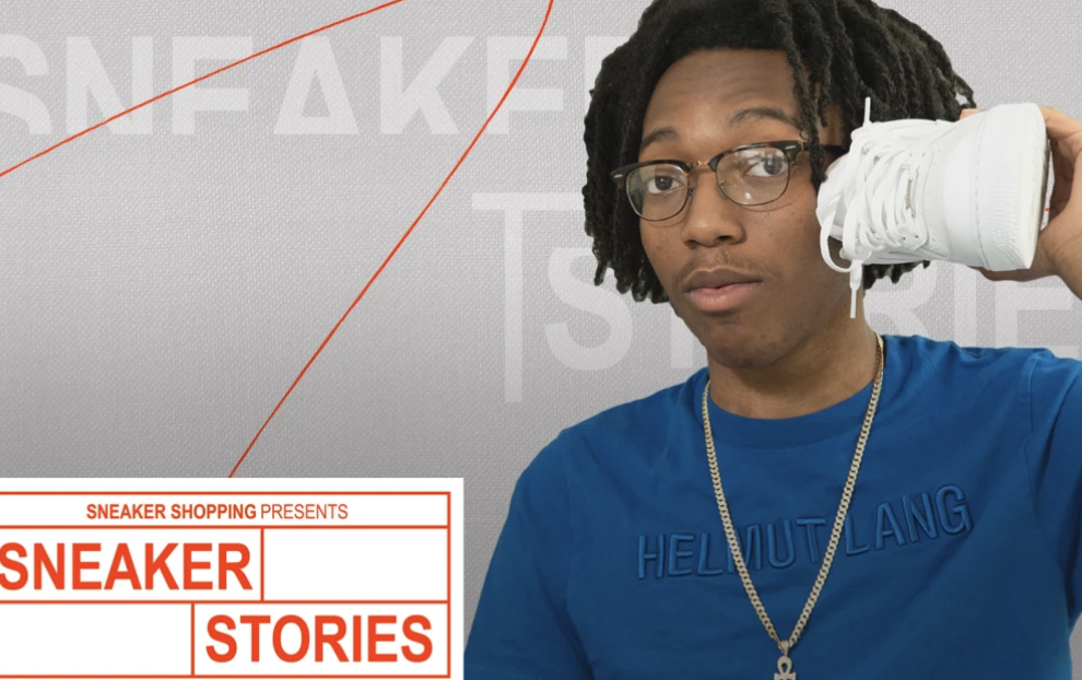 Lil Tecca Shows Off His Favourite Sneakers on Complex Sneaker Stories