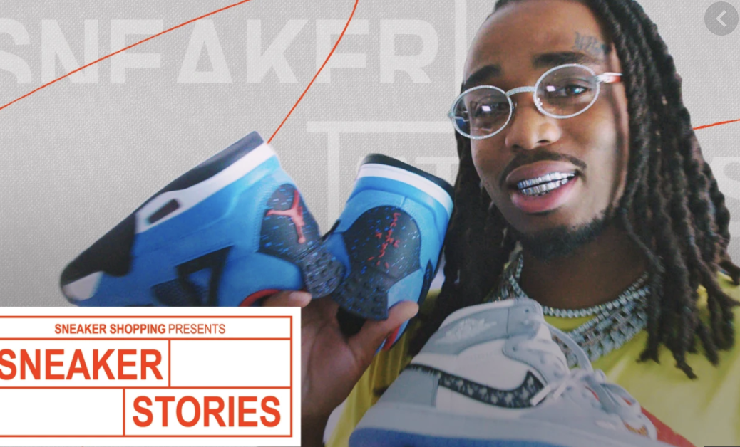 Quavo Joins Complex's Sneaker Stories to Show Off His Favourite Sneakers