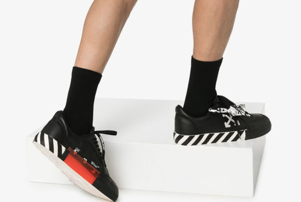 Virtual Try On Off White Sneakers (MM) – Image Courtesy of Farfetch