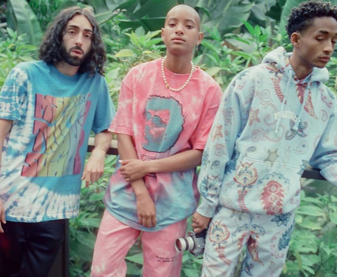 SPOTTED: Jaden Smith Presents MSFTSrep Trippy Summer Drop
