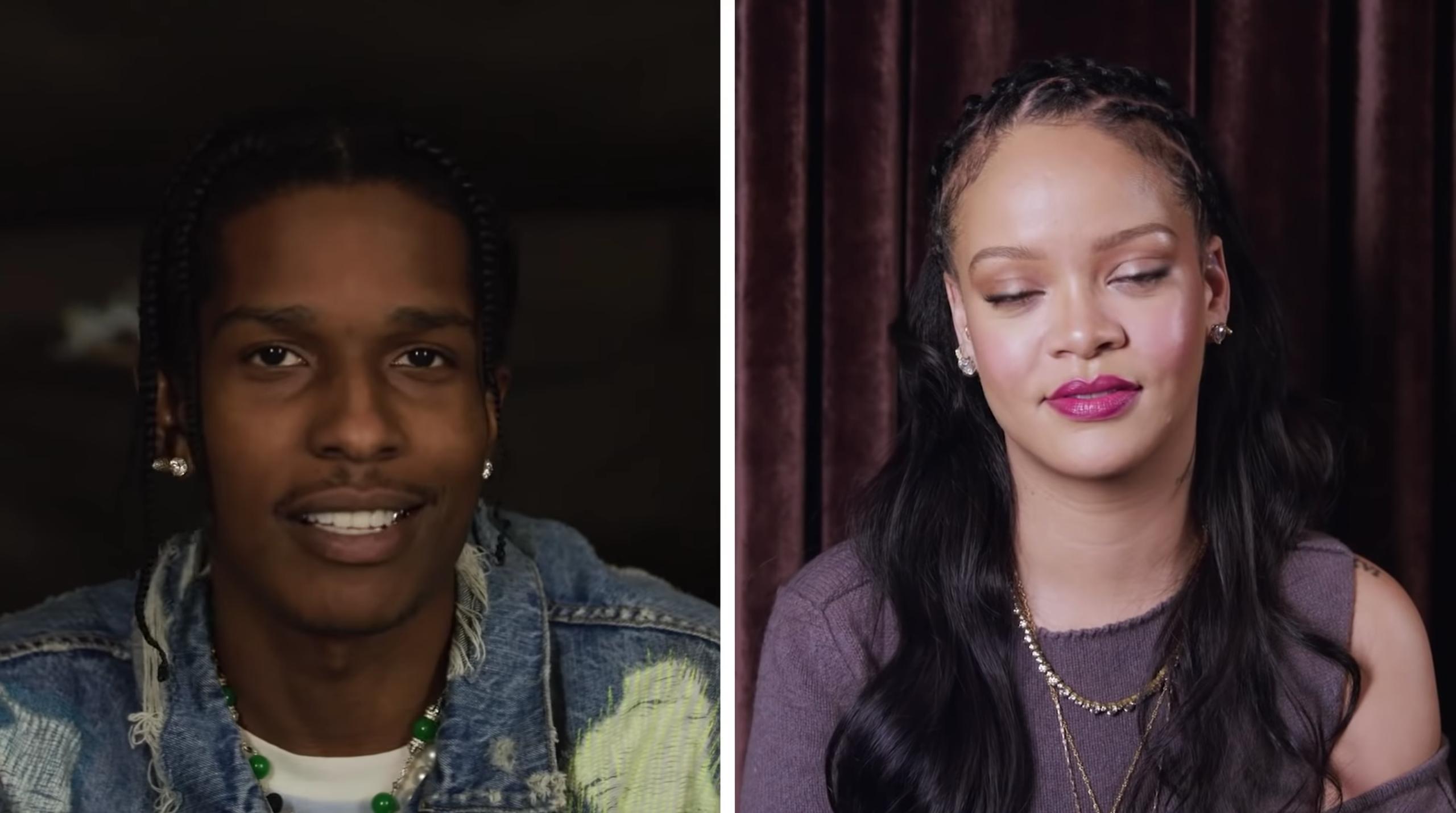 ASAP Rocky & Rihanna Interview Each other for Vogue & GQ