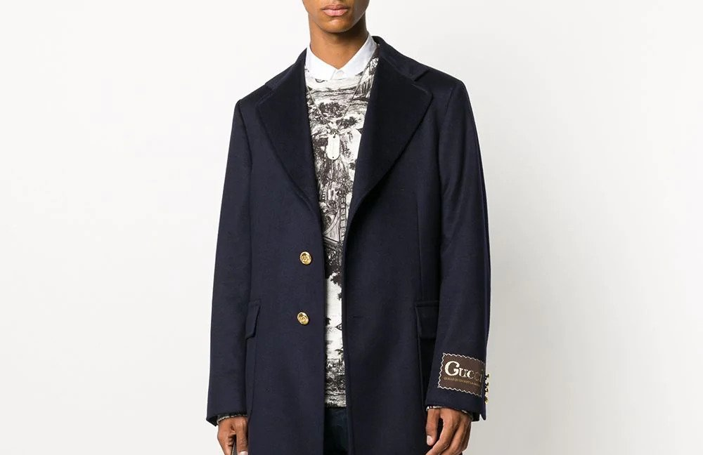 PAUSE or Skip: Gucci Double G Button Coat
