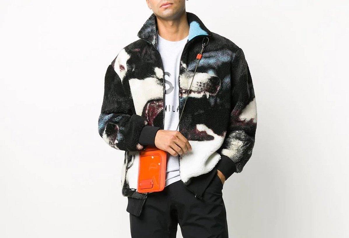 PAUSE or Skip: MSGM Marbled Fleece Jacket