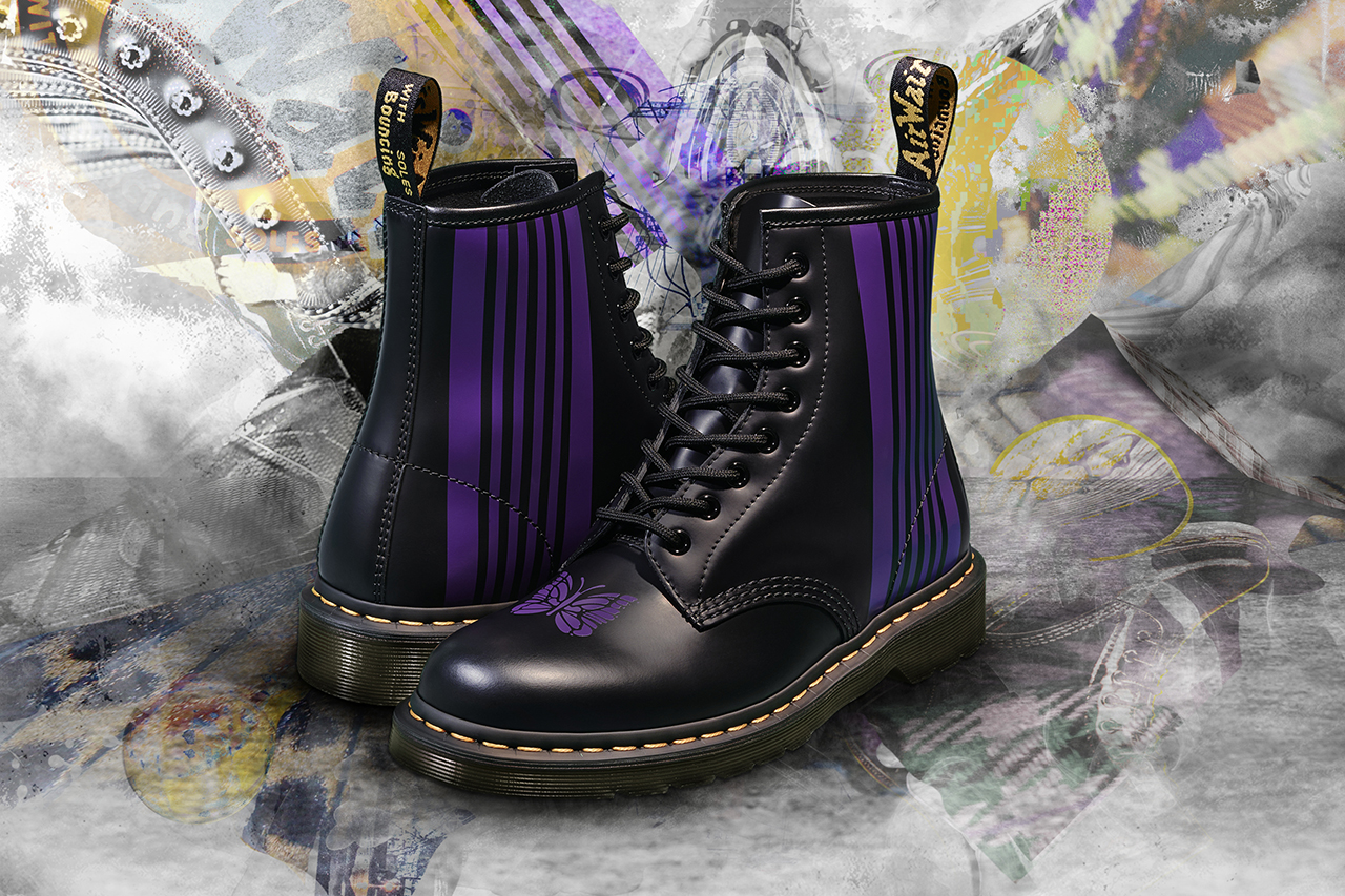 Dr. Martens Enlists Needles to Customise its 1460 Boots