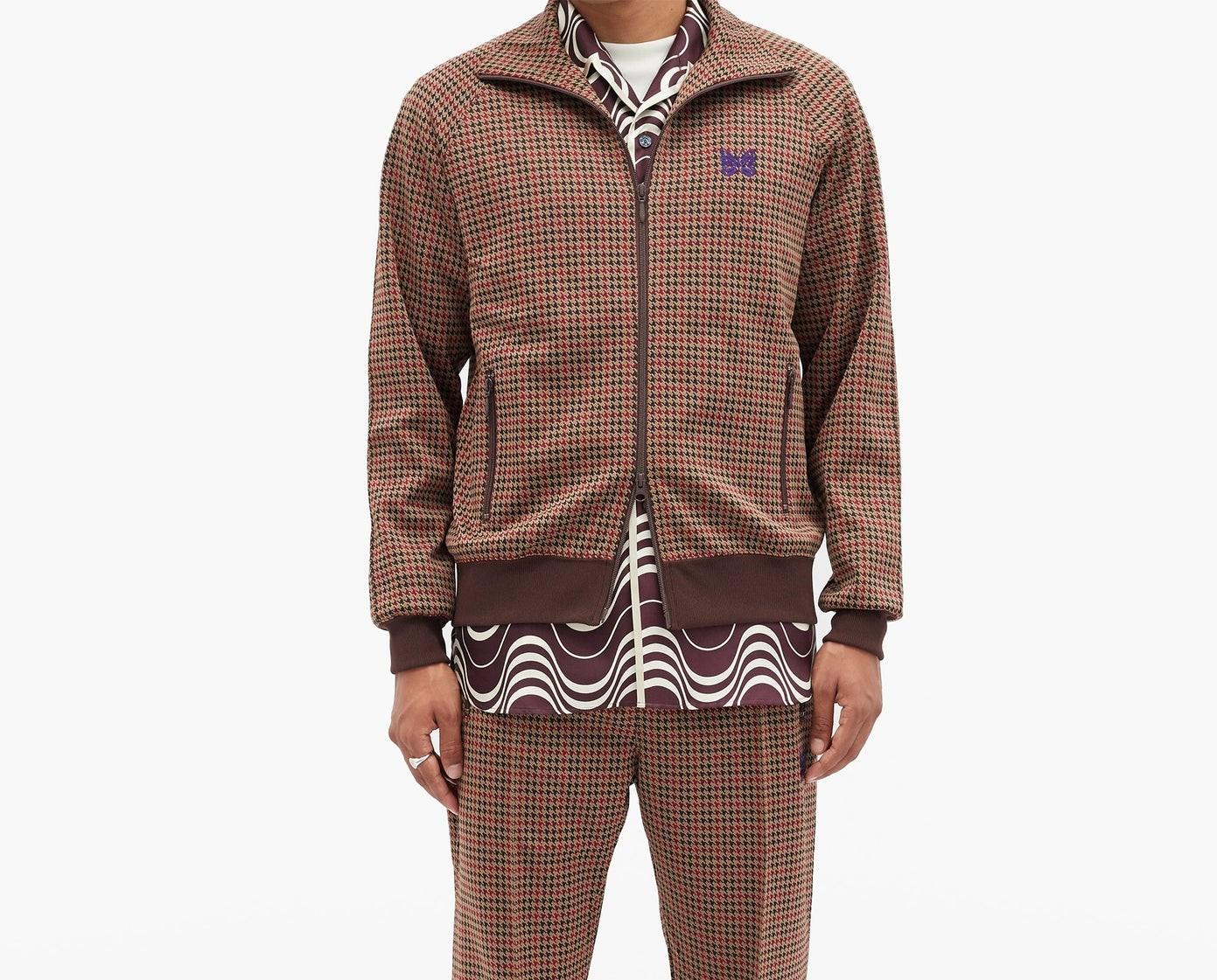 PAUSE or Skip: Needles Houndstooth Tracksuit