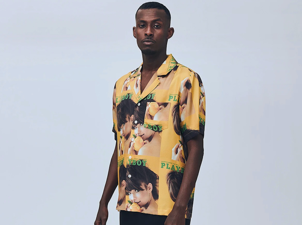 Standout Summer 2020 Shirting from Playboy x Soulland