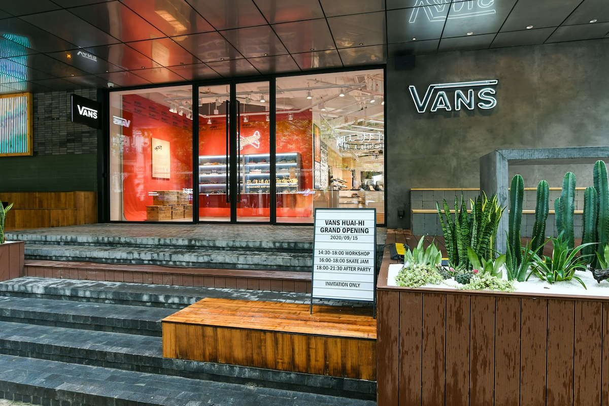 Vans Enters Asia with First Shanghai Boutique Opening
