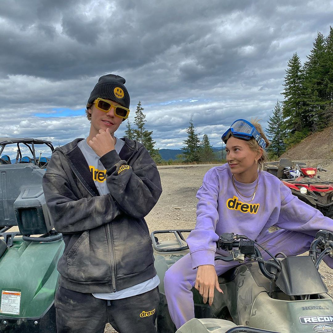 SPOTTED: Justin and Hailey Bieber get Muddy on Quad Bikes