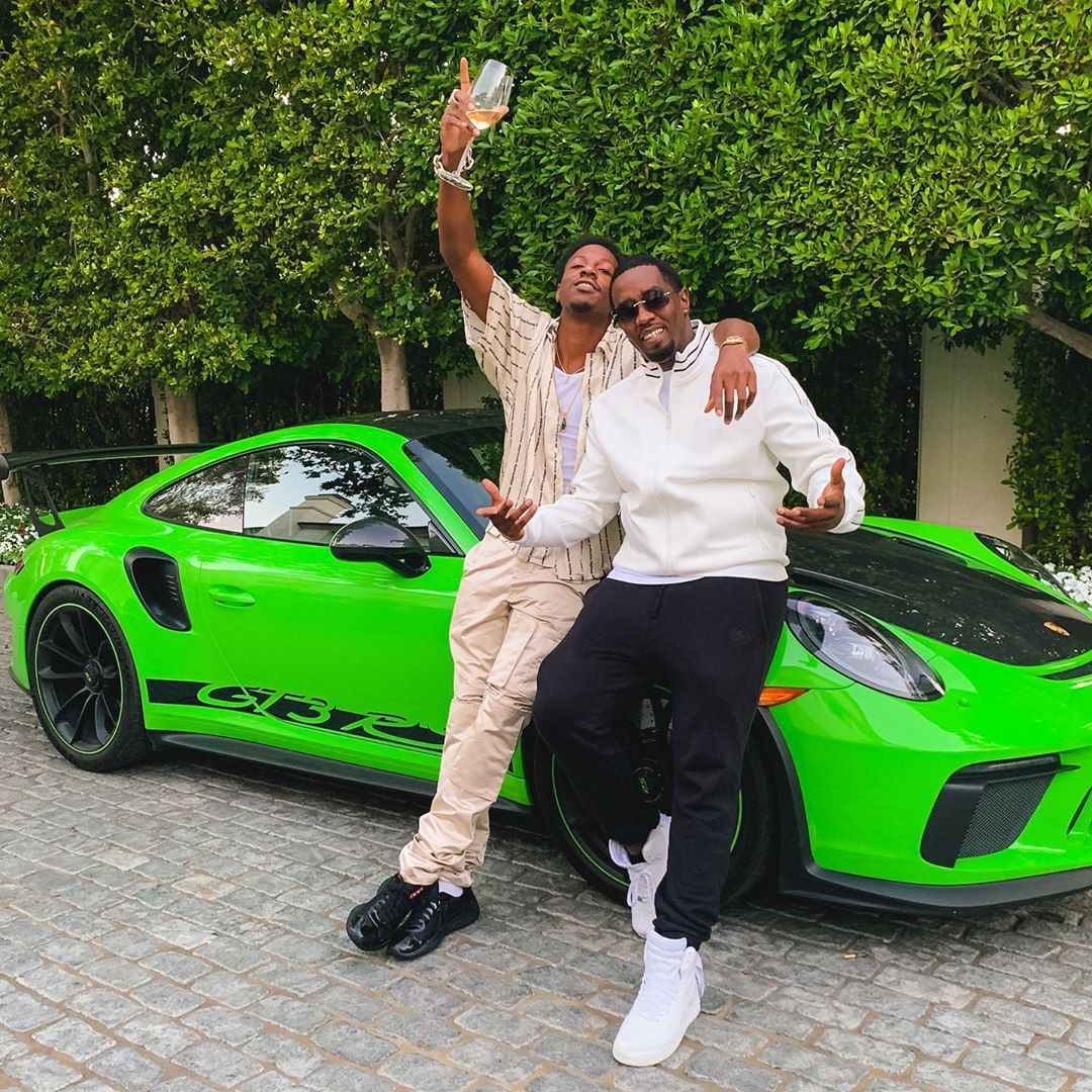 SPOTTED: Joey Badass Flexes New Porche with Diddy