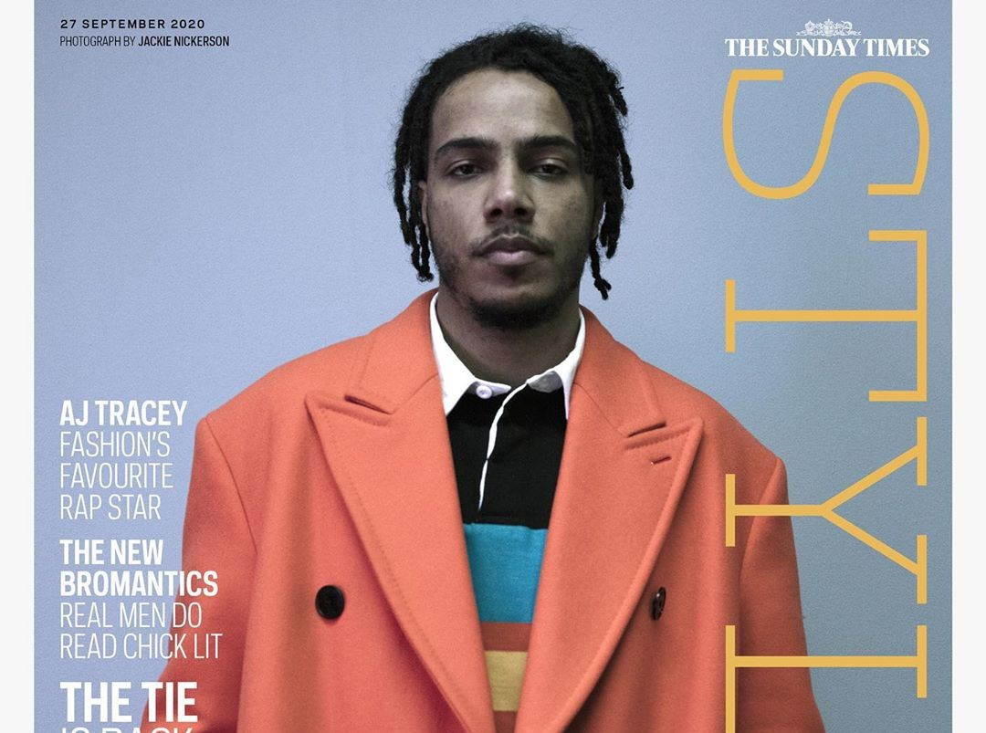 SPOTTED: AJ Tracey on the Cover of Sunday Times Style