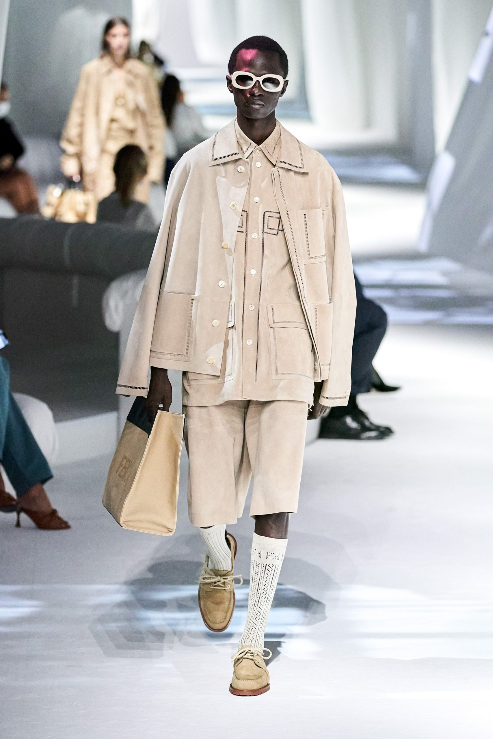 MFW: Fendi Spring/Summer 2021 Menswear Looks