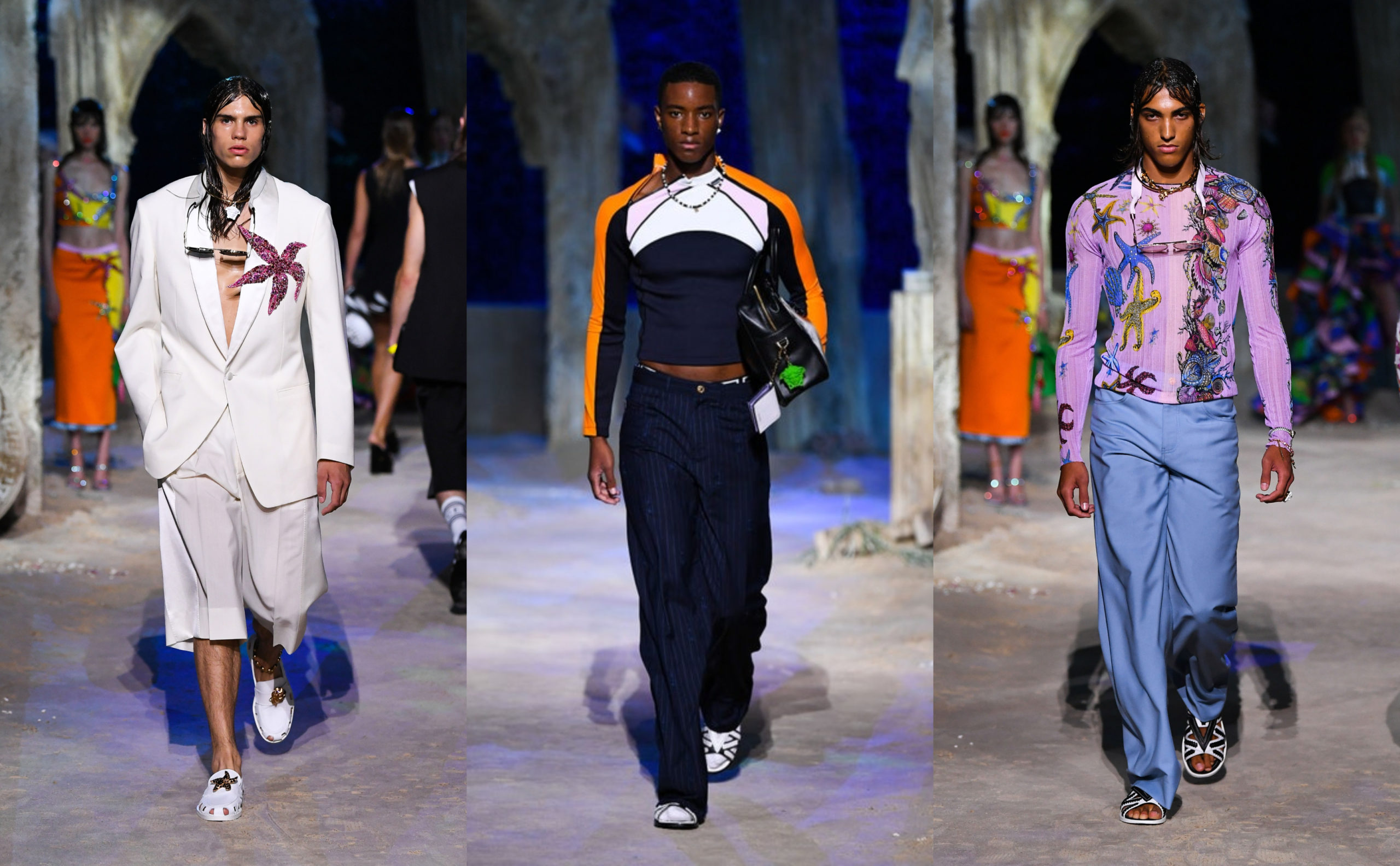 MFW: Versace Spring/Summer 2021 Collection