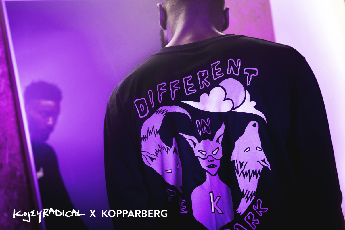 Kojey Radical Releases Exclusive T-Shirt With Kopparberg