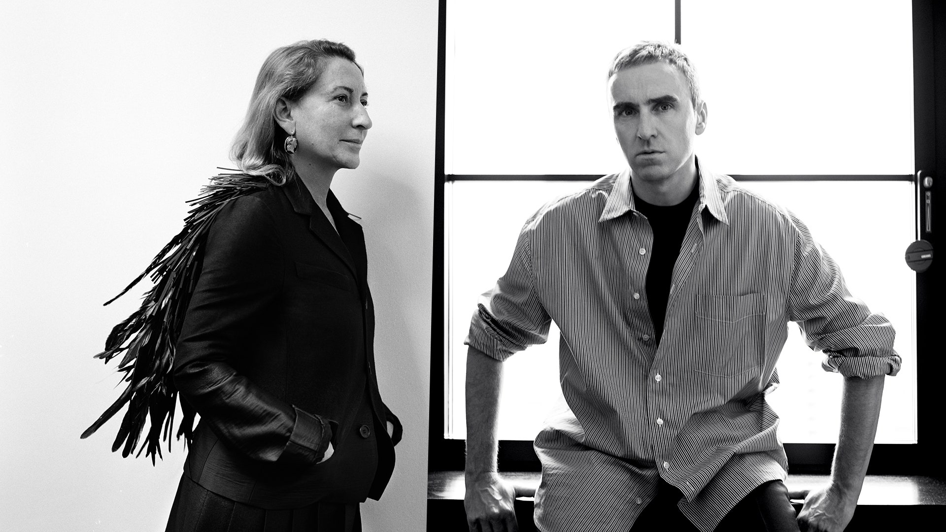 Miuccia Prada and Raf Simons Are Answering Your Questions