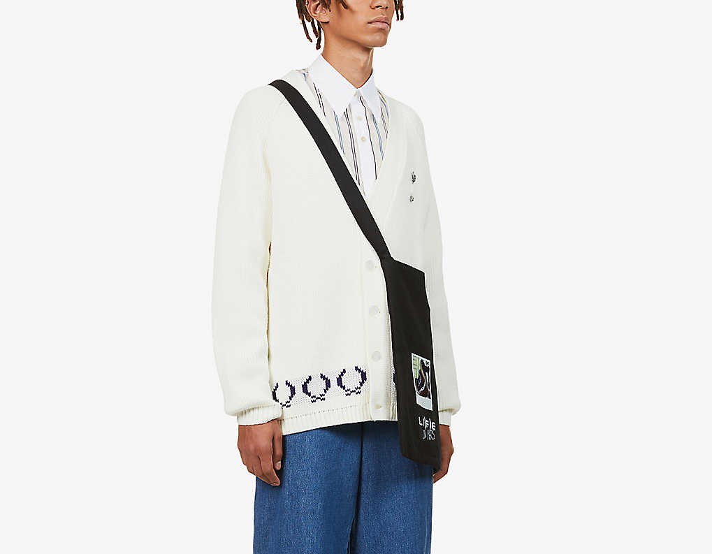 PAUSE or Skip: Raf Simons X Fred Perry Cardigan