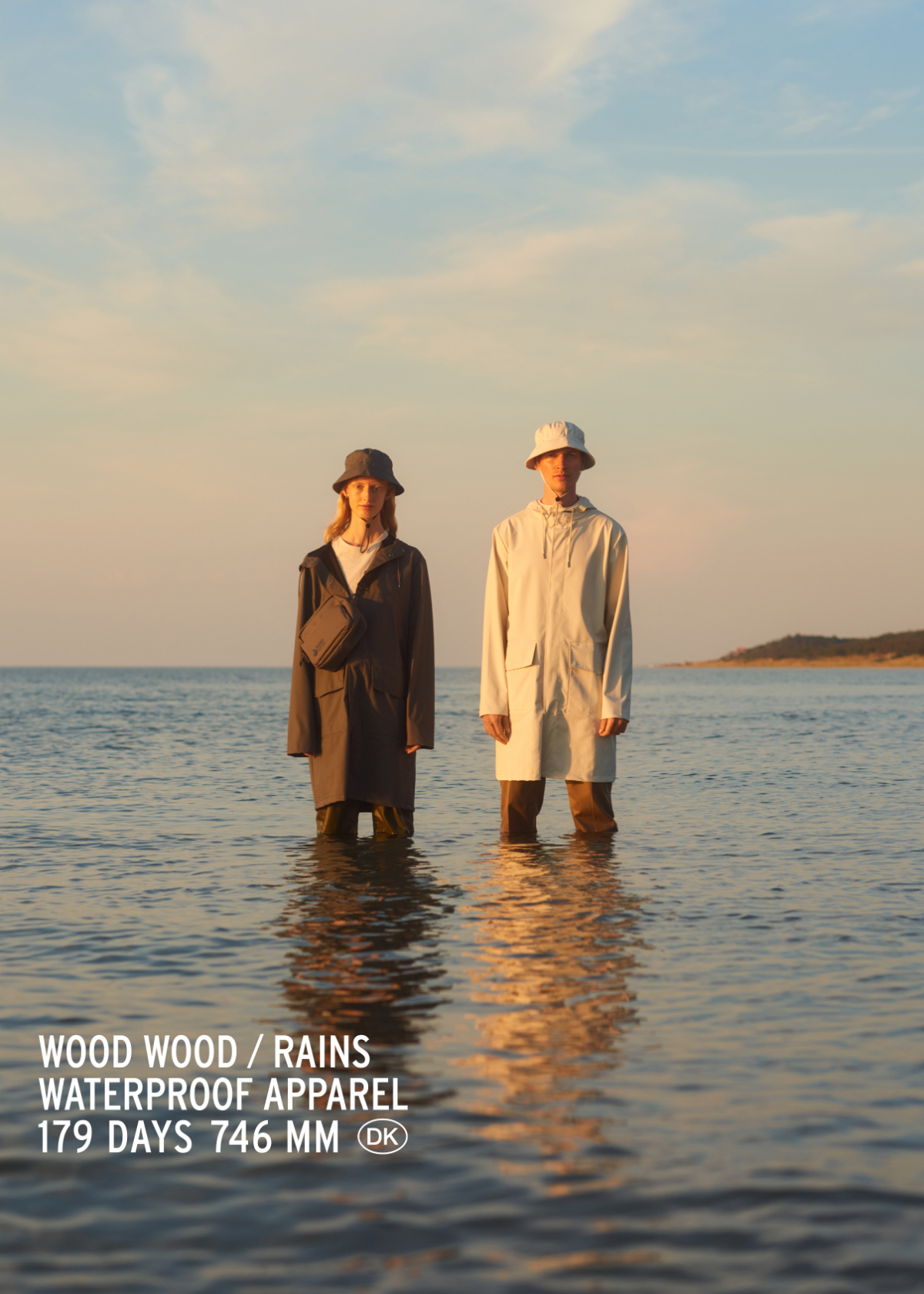 Wood Wood and Rains Create Scandinavian-Themed Rain-Wear