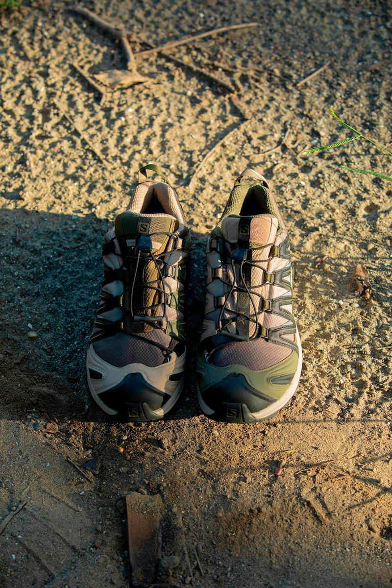 Beams and Salomon Create Outdoor-Inspired Sneaker