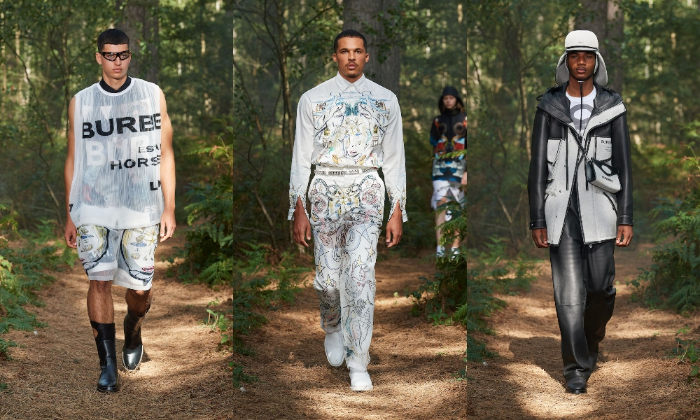 Burberry Spring/Summer 2021 'IN BLOOM' Collection