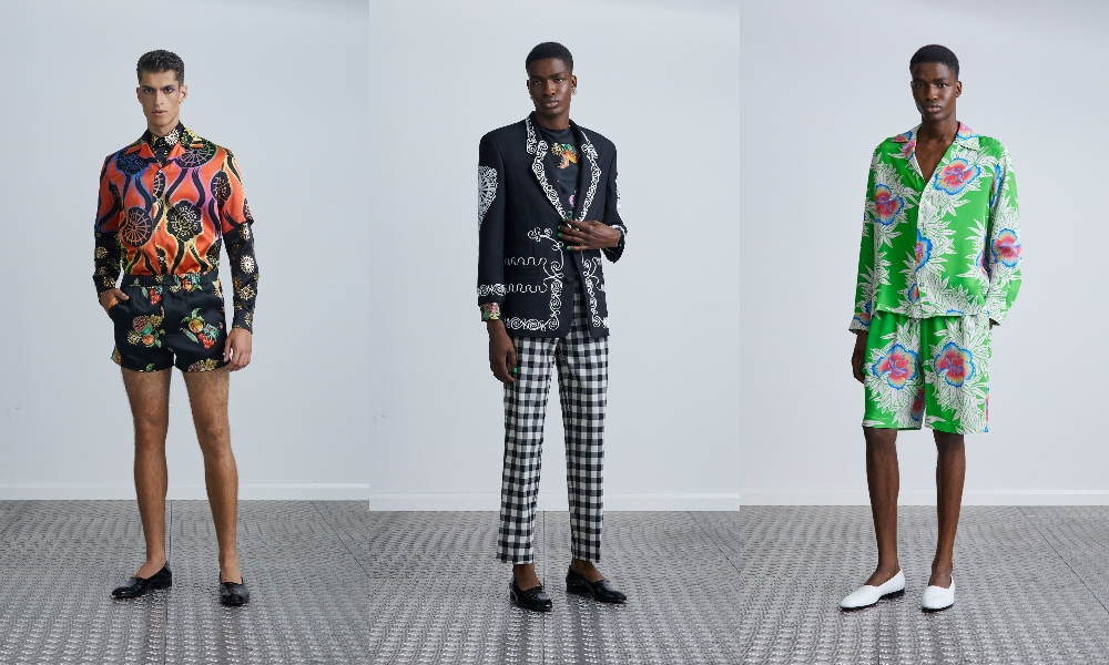 LFW: Edward Crutchley Spring/Summer 2021 Collection