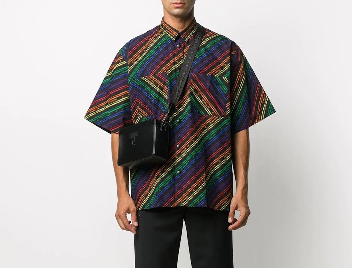 PAUSE or Skip: Givenchy Rainbow Stripe Shirt