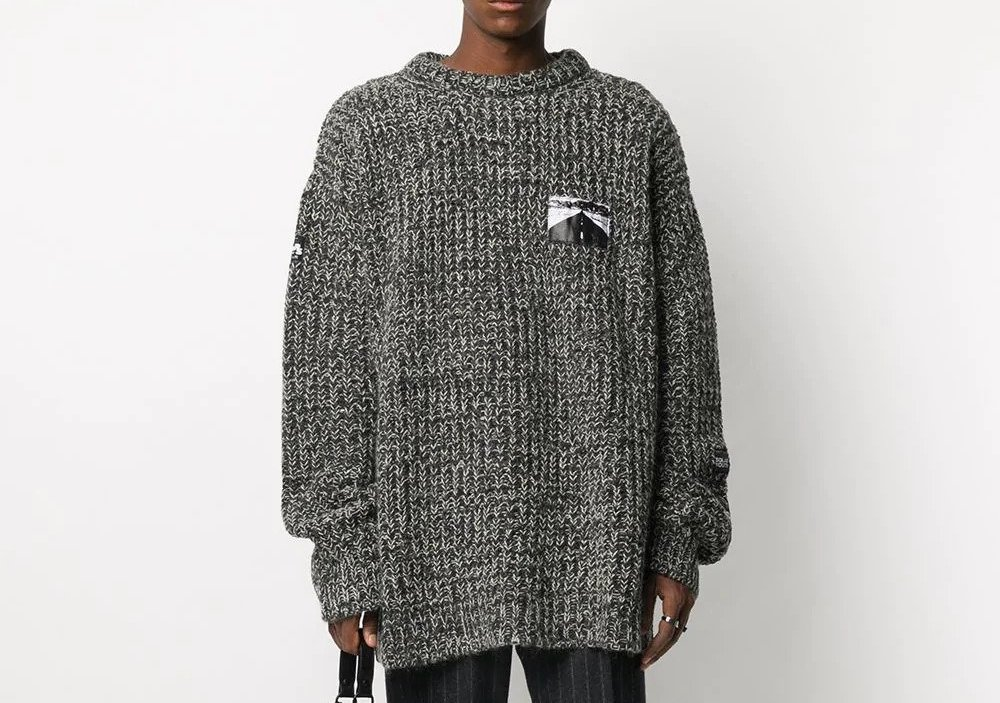 PAUSE or Skip: Raf Simons Patch Detail Jumper