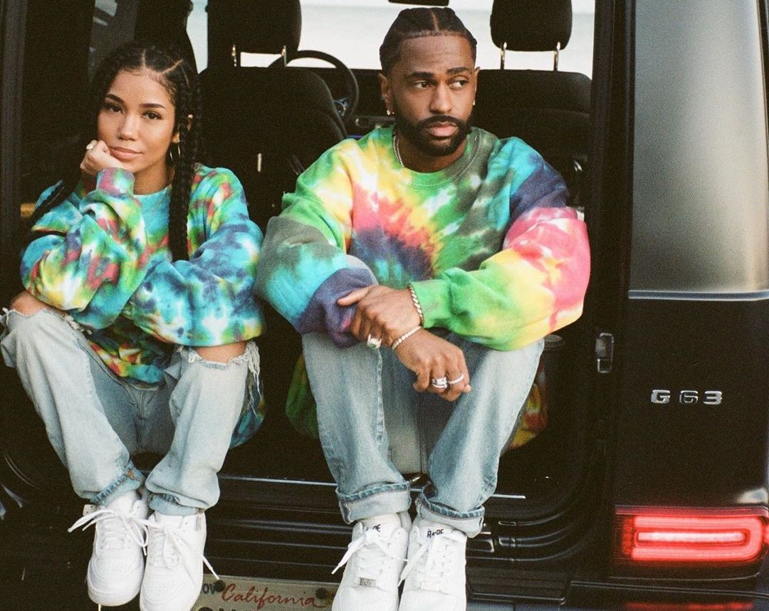 SPOTTED: Big Sean and Jhene Aiko Twinning in Tie-Dye
