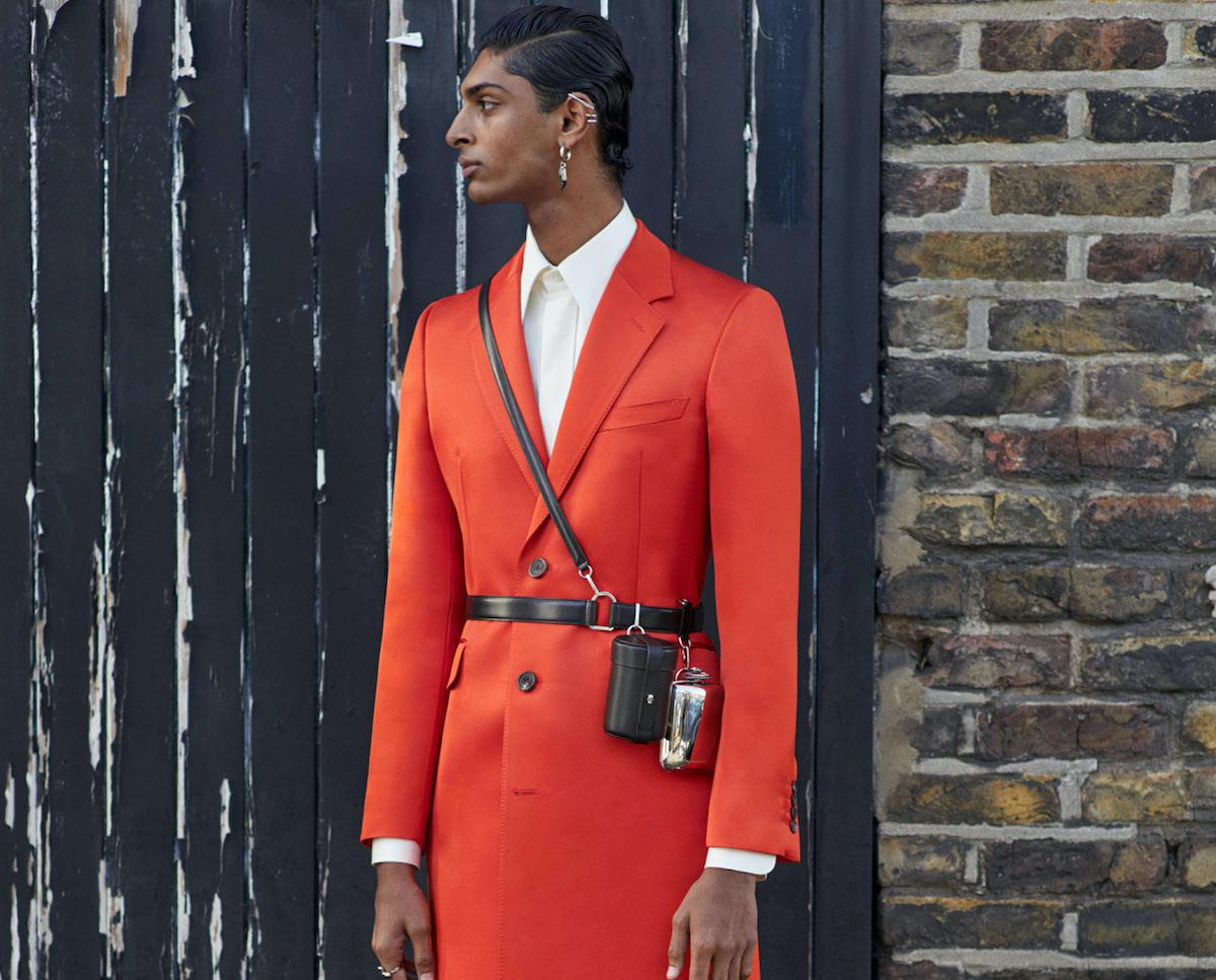 Alexander McQueen Spotlights Autumn/Winter 2020 Tailoring