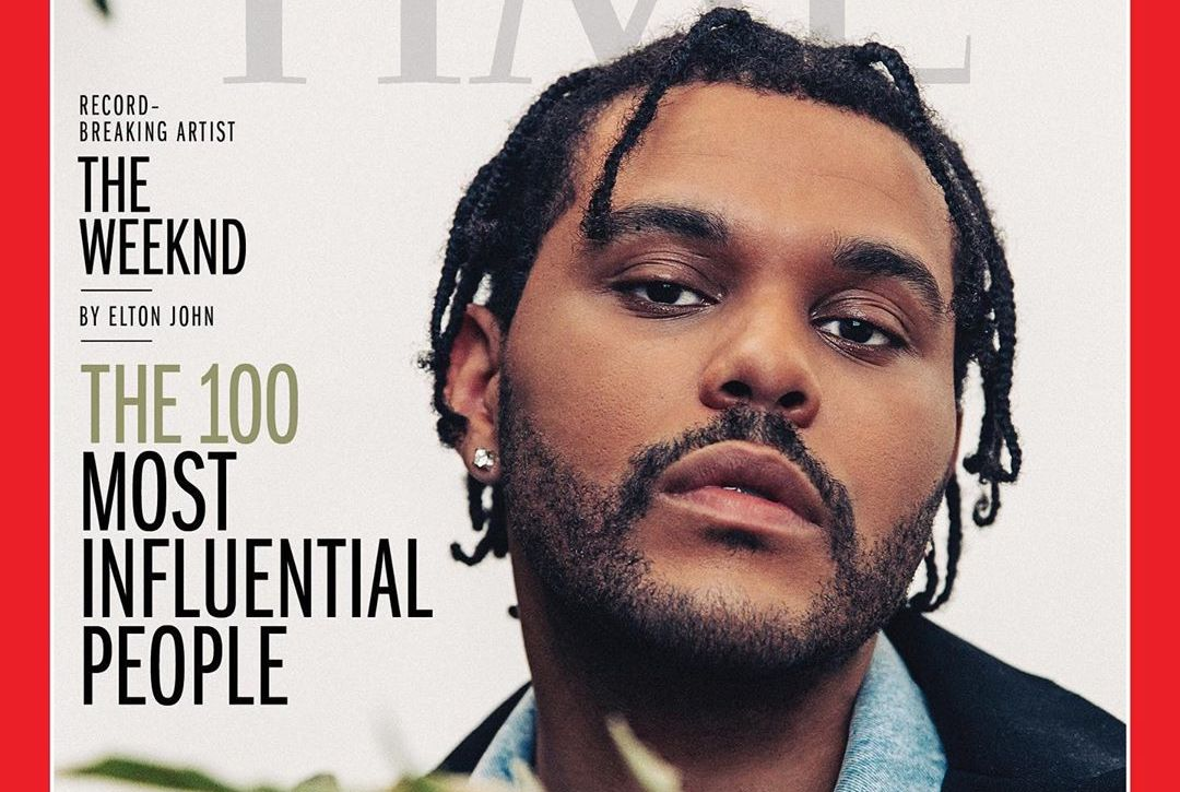 The Weeknd Makes Time's '100 Most Influential People of 2020' List