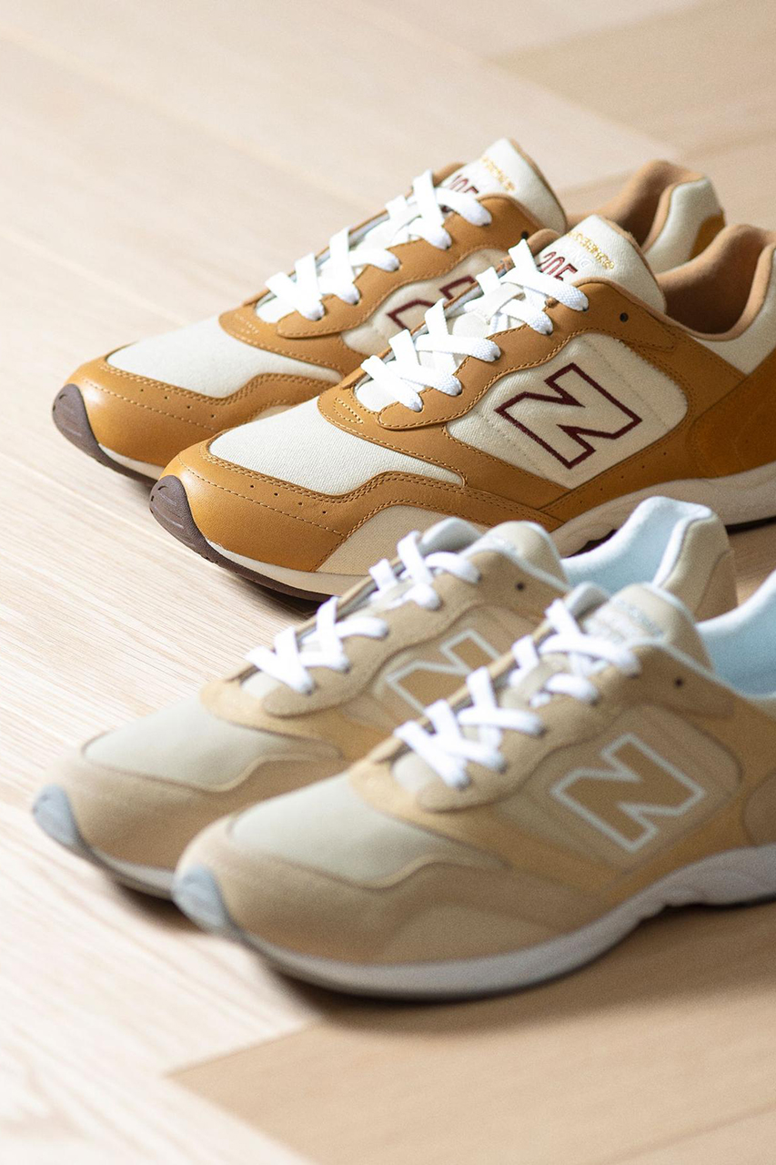 New Balance Link With Beauty & Youth to Mix Brown Hues
