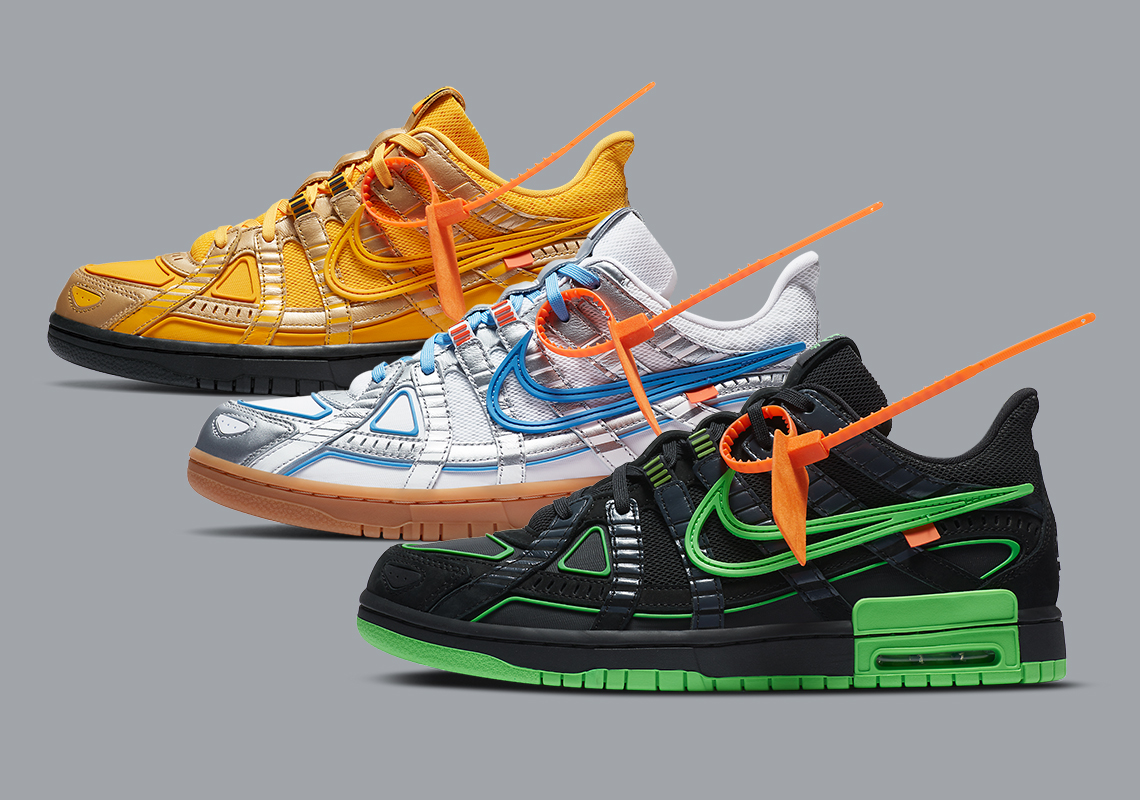 "Nike and Off-White Reconvene For ""Rubber Dunk"" Release"