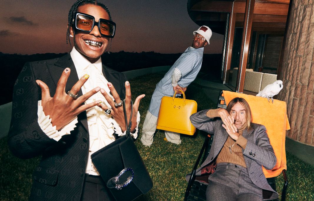 Gucci Enlists A$AP Rocky, Iggy Pop and Tyler, the Creator for New Campaign