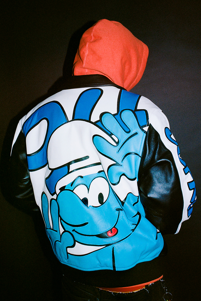 The Smurfs is Supreme's Latest Inspiration