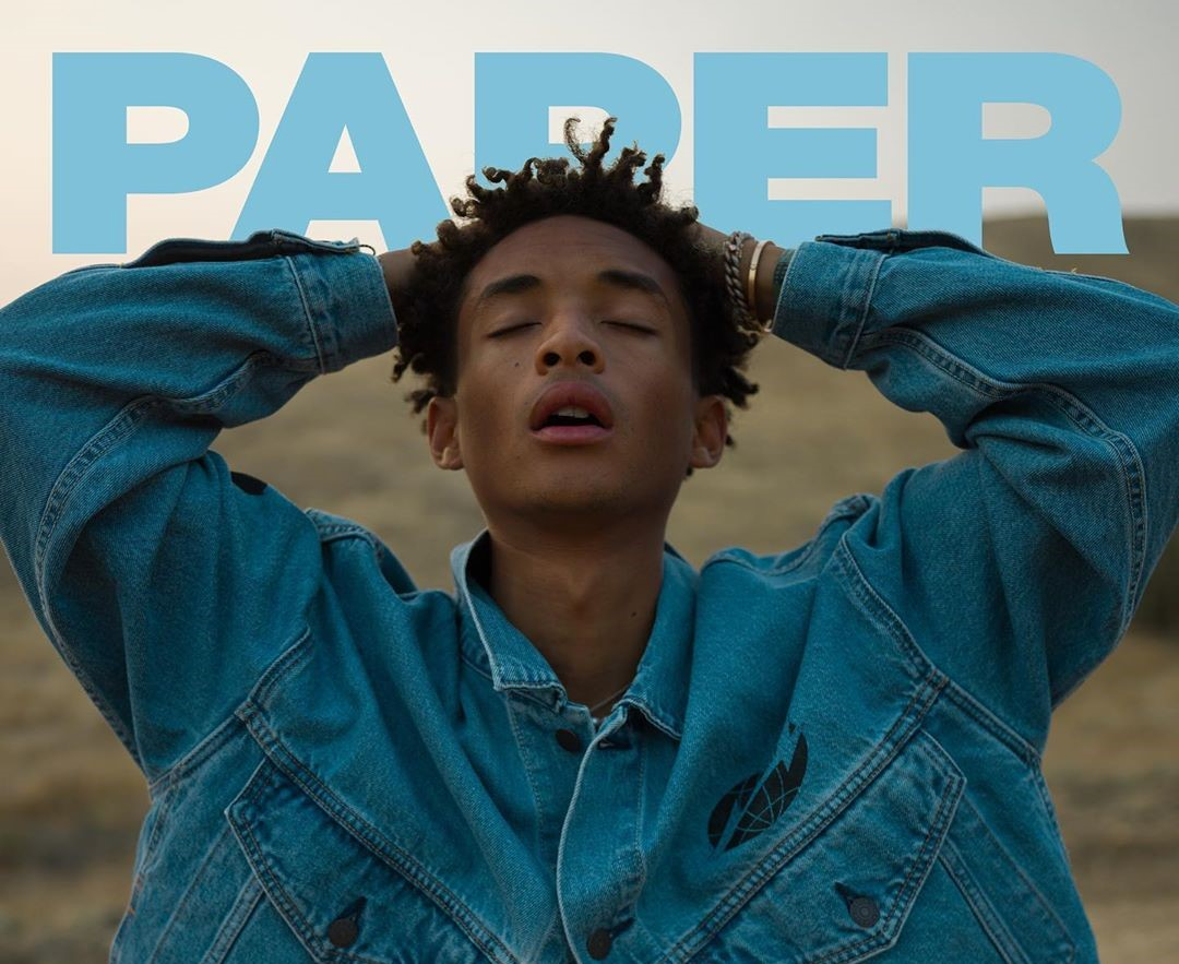 SPOTTED: Jaden Smith on the Cover of PAPER